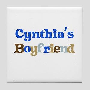 Cynthia's Boyfriend Tile Coaster