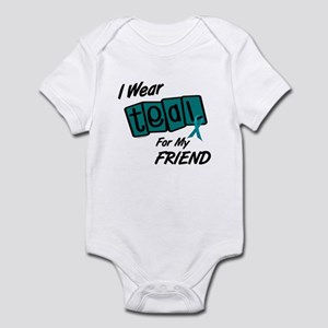 I Wear Teal 8.2 (Friend) Infant Bodysuit