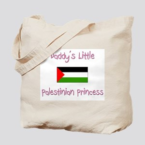 Daddy's little Palestinian Princess Tote Bag