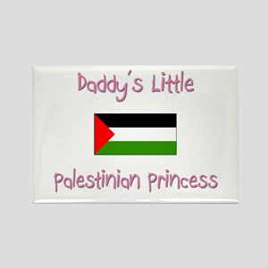 Daddy's little Palestinian Princess Rectangle Magn