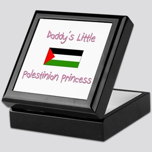 Daddy's little Palestinian Princess Keepsake Box