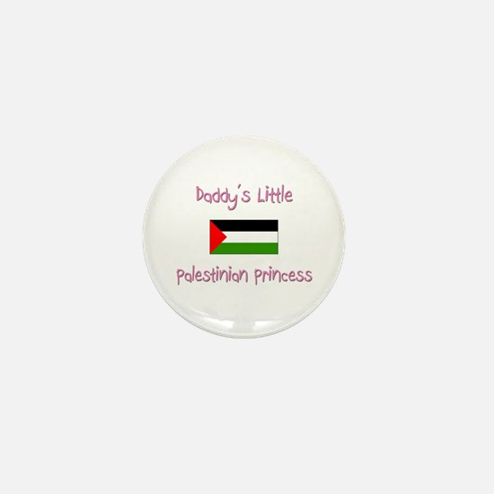 Daddy's little Palestinian Princess Mini Button