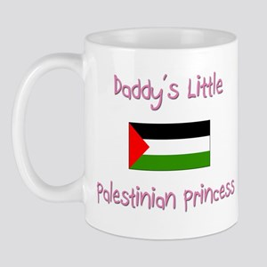 Daddy's little Palestinian Princess Mug