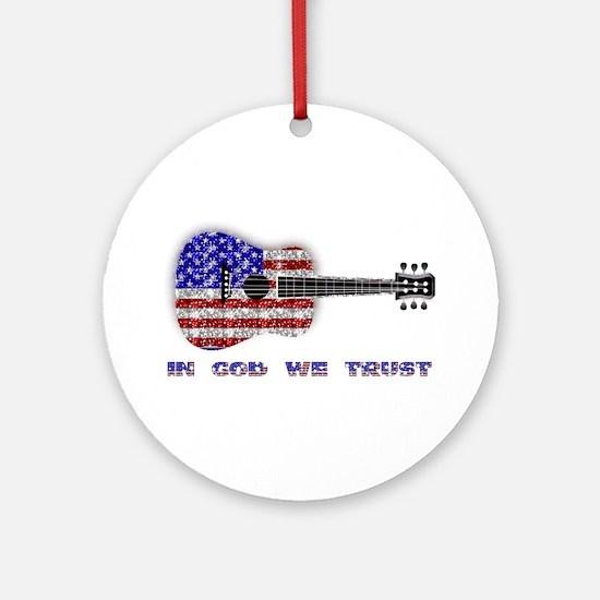 In God We Trust Keepsake (Round)