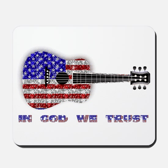 In God We Trust Mousepad