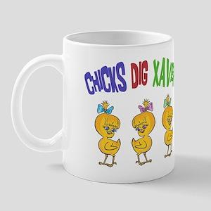 Chicks Dig Xavier Mug