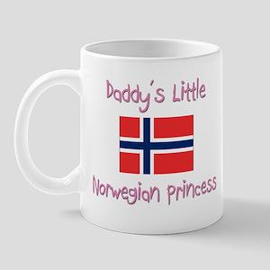 Daddy's little Norwegian Princess Mug