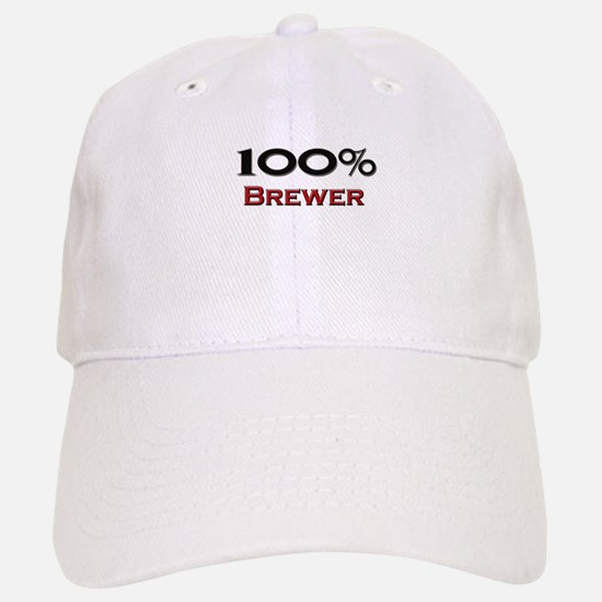 100 Percent Brewer Baseball Baseball Cap