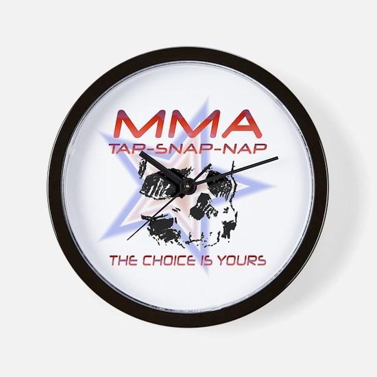 MMA Shirts and Gifts Wall Clock
