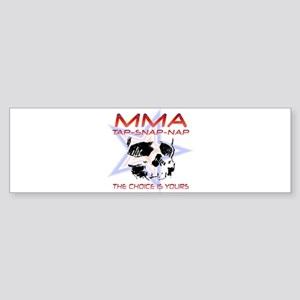 MMA Shirts and Gifts Bumper Sticker