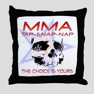 MMA Shirts and Gifts Throw Pillow