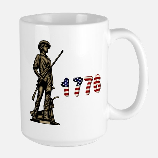 1776 Minuteman Large Mug