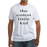 361. the cutest little kid... Fitted T-Shirt