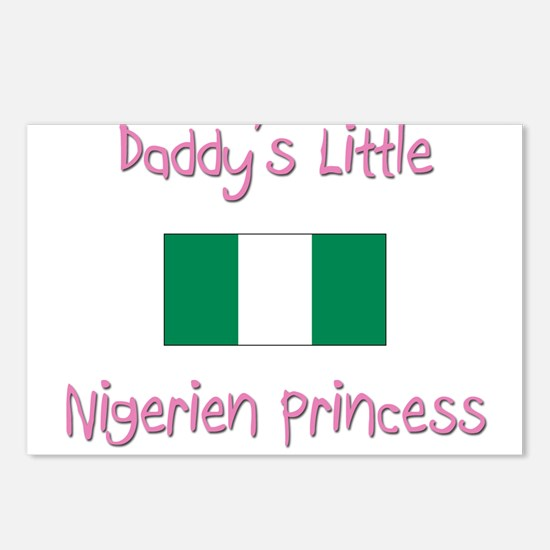Daddy's little Nigerien Princess Postcards (Packag