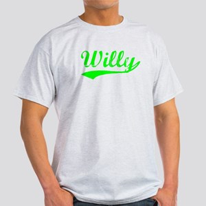Vintage Willy (Green) Light T-Shirt