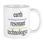 359. earth resonant technologyz...? Mug