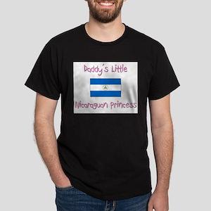 Daddy's little Nicaraguan Princess Dark T-Shirt