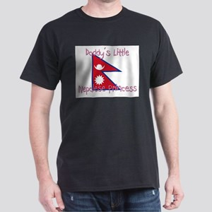 Daddy's little Nepalese Princess Dark T-Shirt