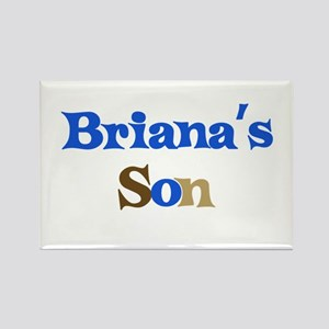 Briana's Son Rectangle Magnet