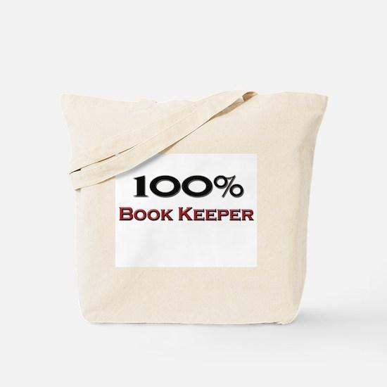 100 Percent Book Keeper Tote Bag