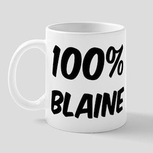 100 Percent Blaine Mug