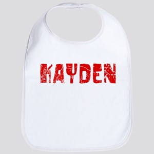Kayden Faded (Red) Bib