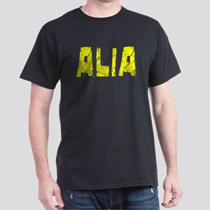 Alia Faded (Gold) Dark T-Shirt