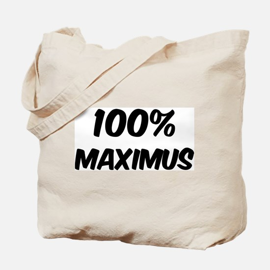100 Percent Maximus Tote Bag