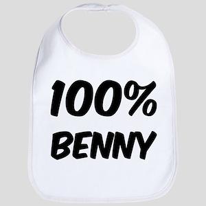 100 Percent Benny Bib