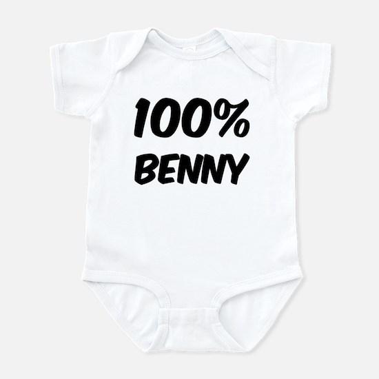 100 Percent Benny Infant Bodysuit