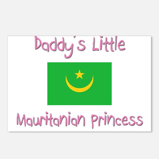 Daddy's little Mauritanian Princess Postcards (Pac