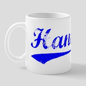 Vintage Hanoi (Blue) Mug