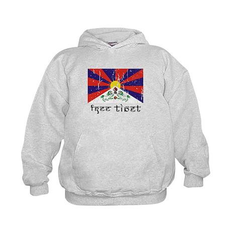 Free Tibet Kids Hoodie