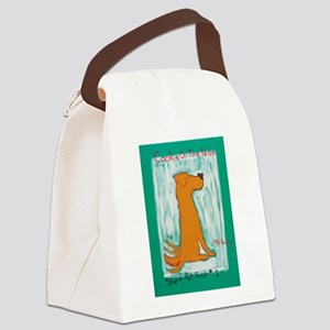 Golden Cookie On The Nose - Stupi Canvas Lunch Bag