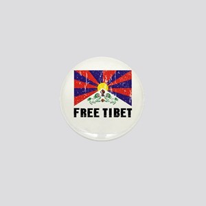 Free Tibet Mini Button