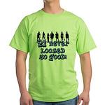 Good Looking 21, 21st Green T-Shirt
