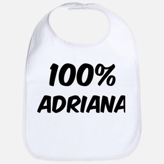 100 Percent Adriana Bib