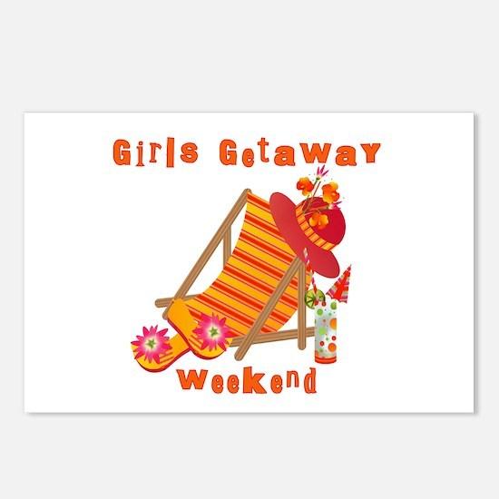 Girls Getaway Weekend Postcards (Package of 8)