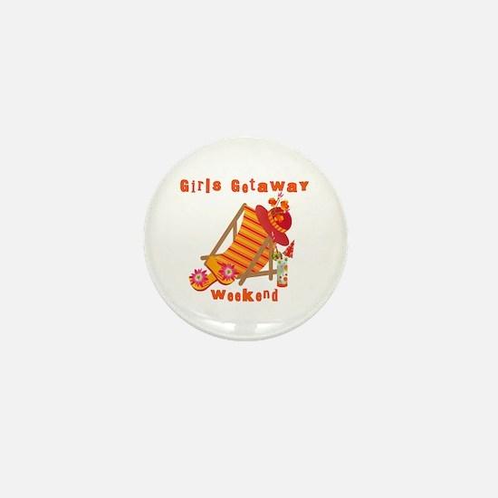 Girls Getaway Weekend Mini Button (10 pack)