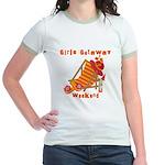 Girls Getaway Weekend Jr. Ringer T-Shirt