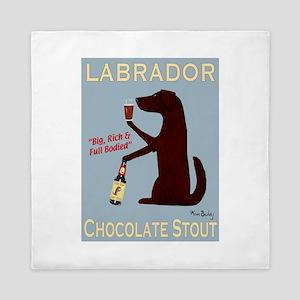 Labrador Chocolate Stout Queen Duvet