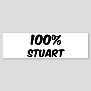 100 Percent Stuart Bumper Sticker