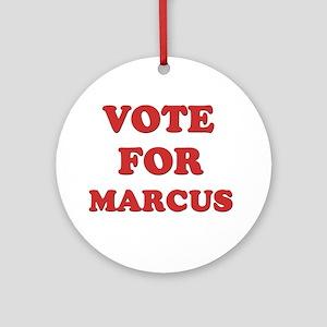 Vote for MARCUS Ornament (Round)