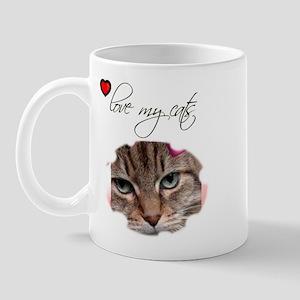 LOVE MY CATS Mug