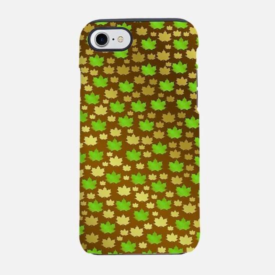 gold, silver, metal, shiny, iPhone 8/7 Tough Case