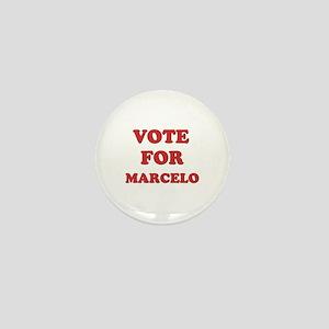 Vote for MARCELO Mini Button