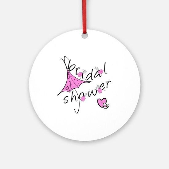 Bridal Shower Ornament (Round)