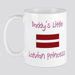Daddy's little Latvian Princess Mug