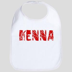 Kenna Faded (Red) Bib