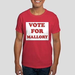 Vote for MALLORY Dark T-Shirt
